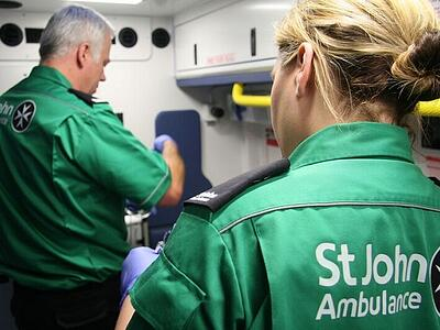 St Johns Ambulance Case Study